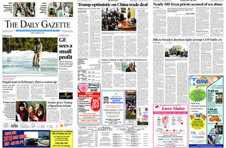 The Daily Gazette – February 01, 2019
