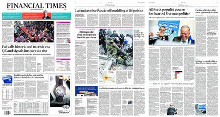 Financial Times Europe – September 21, 2017