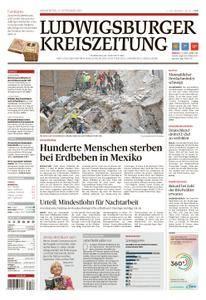 Ludwigsburger Kreiszeitung - 21. September 2017