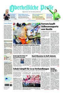 Oberhessische Presse Marburg/Ostkreis - 17. Januar 2018