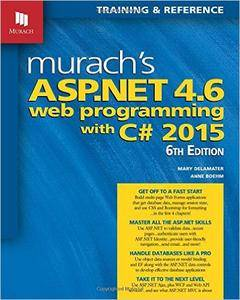 Murach's ASP.NET 4.6 Web Programming with C# 2015, 6 edition