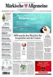 Märkische Allgemeine Luckenwalder Rundschau - 08. Dezember 2017