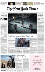International New York Times - 24 March 2020