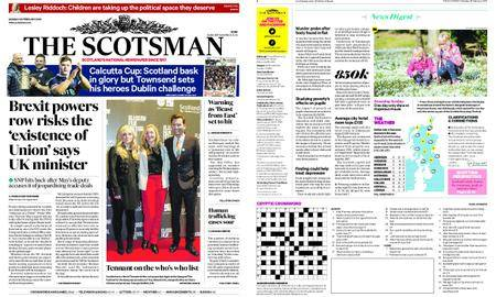 The Scotsman – February 26, 2018