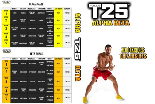 Focus T25 Workout [repost] / AvaxHome