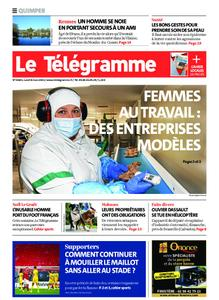 Le Télégramme Quimper – 08 mars 2021