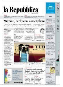 la Repubblica - 5 Febbraio 2018