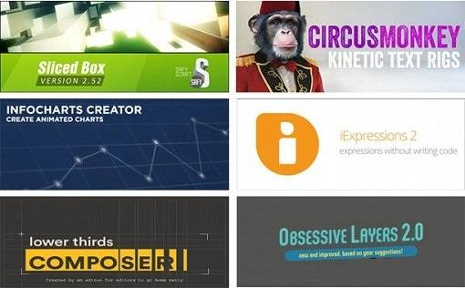 Aescripts Plugins Collection for After Effects Updated Sept