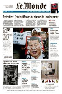 Le Monde du Dimanche 29 et Lundi 30 Décembre 2019