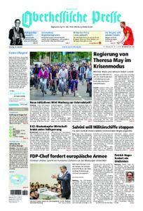 Oberhessische Presse Hinterland - 10. Juli 2018