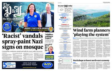 The Press and Journal Moray – May 22, 2019