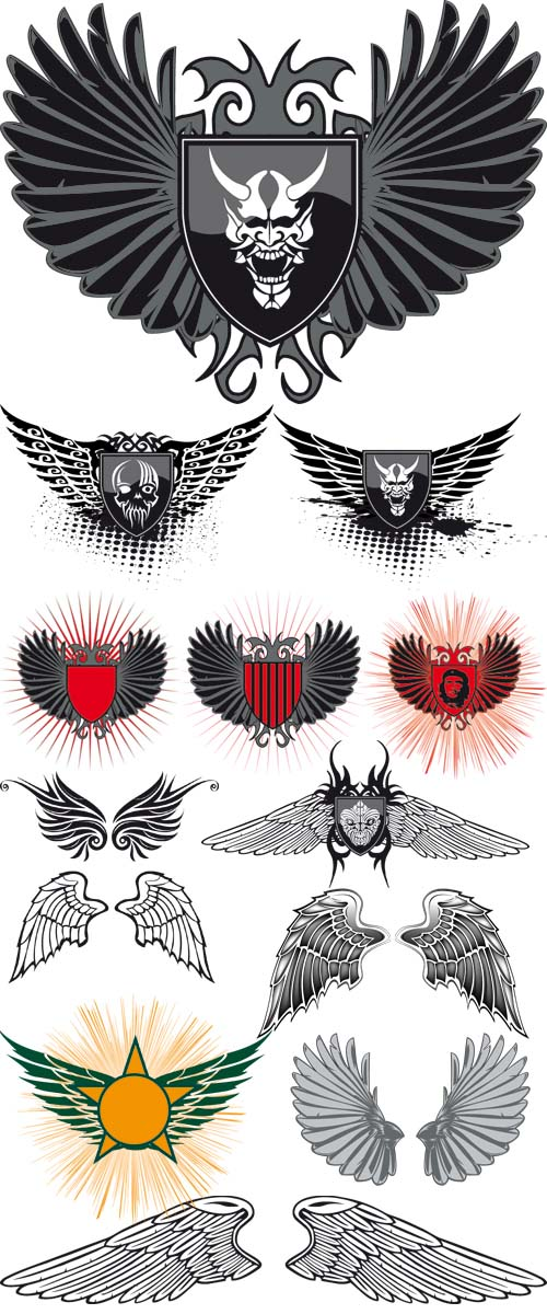 Wings Vector Collection