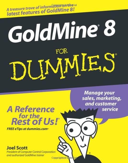GoldMine 8 For Dummies (Repost)