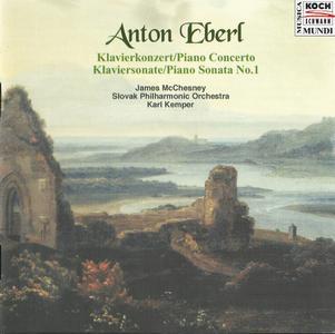 James McChesney - Anton Eberl: Piano Concerto, Piano Sonata (2001)