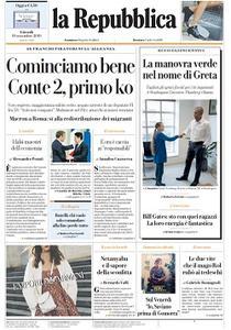 la Repubblica - 19 Settembre 2019