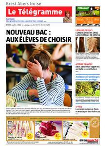 Le Télégramme Brest Abers Iroise – 02 mai 2019