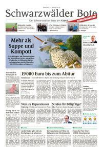 Schwarzwälder Bote Hechingen - 31. August 2019