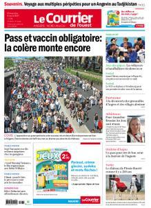 Le Courrier de l'Ouest Angers – 08 août 2021