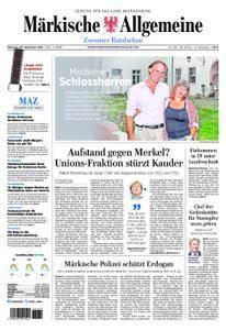 Märkische Allgemeine Zossener Rundschau - 26. September 2018