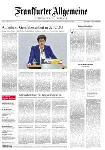 Frankfurter Allgemeine Zeitung - 11 Februar 2020