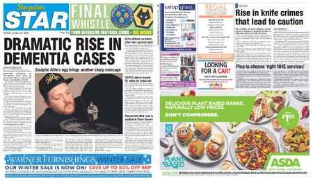 Shropshire Star Shrewsbury Edition – January 20, 2020