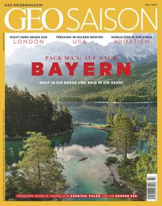 Geo Saison - Juli 2019