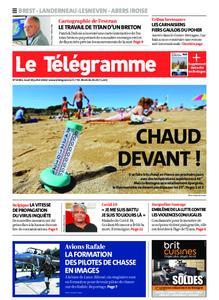 Le Télégramme Brest Abers Iroise – 30 juillet 2020