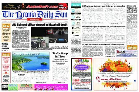 The Laconia Daily Sun – November 22, 2017