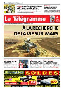 Le Télégramme Ouest Cornouaille – 31 juillet 2020