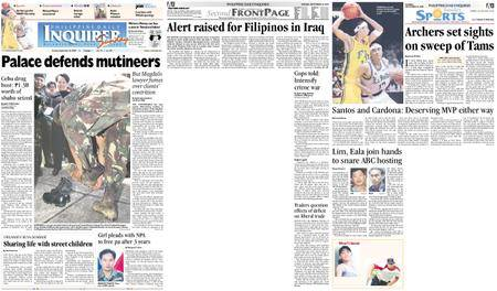 Philippine Daily Inquirer – September 26, 2004