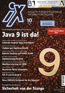 iX Magazin - Oktober 2017