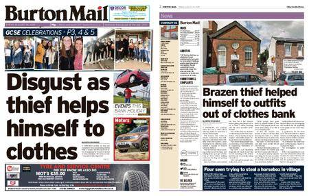 Burton Mail – August 24, 2018