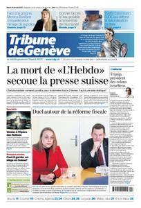 Tribune de Genève du 24 Janvier 2017