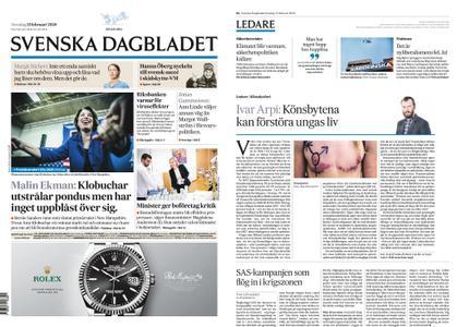 Svenska Dagbladet – 13 februari 2020