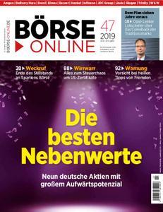 Börse Online – 21. November 2019