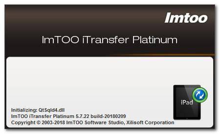ImTOO iTransfer Platinum 5.7.30 Build 20200221 Multilingual