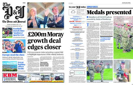 The Press and Journal Moray – September 29, 2018
