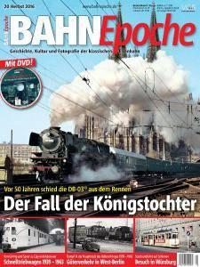 Bahn Epoche - Herbst 2016