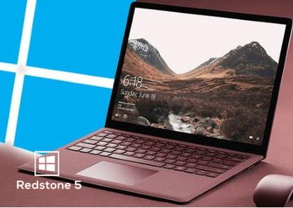 Windows 10 version 1809 Redstone 5 Build 17763.864