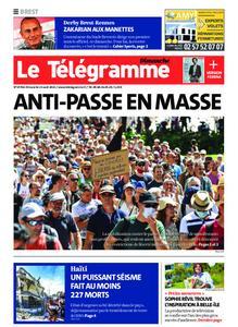 Le Télégramme Brest Abers Iroise – 15 août 2021