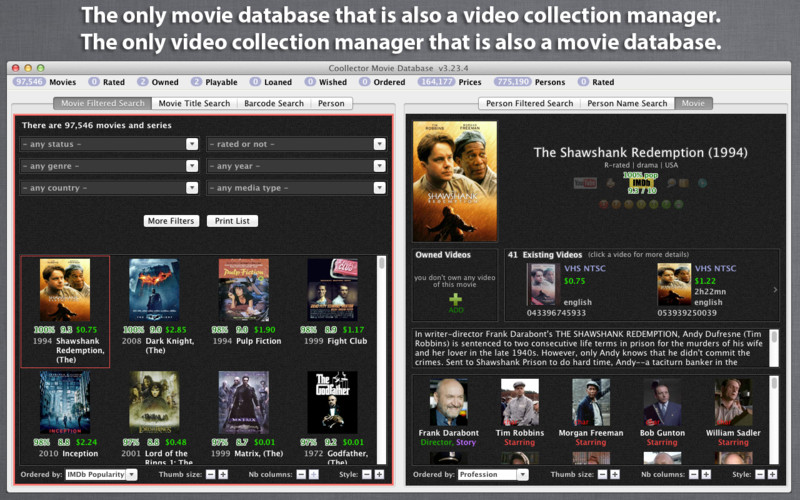 Coollector Movie Database 3.25.9