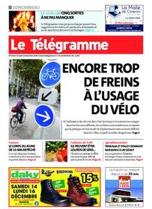 Le Télégramme Concarneau – 14 décembre 2019