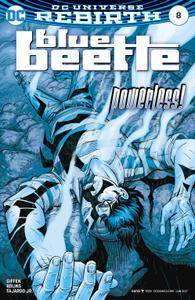 Blue Beetle 008 2017 2 covers Digital Zone-Empire