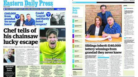 Eastern Daily Press – May 08, 2019