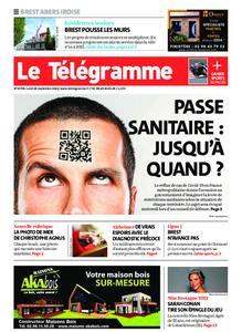 Le Télégramme Brest Abers Iroise – 20 septembre 2021