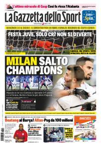 La Gazzetta dello Sport Roma – 22 gennaio 2019