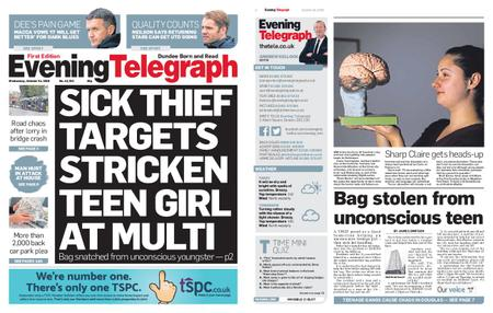 Evening Telegraph First Edition – October 24, 2018