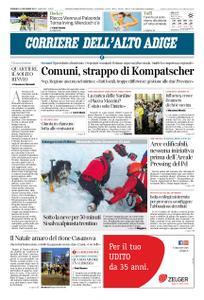 Corriere dell'Alto Adige – 15 dicembre 2019