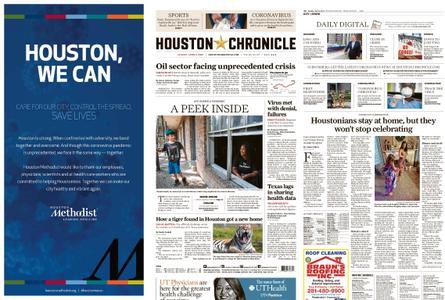 Houston Chronicle – April 05, 2020