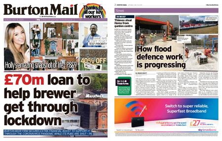 Burton Mail – May 18, 2020